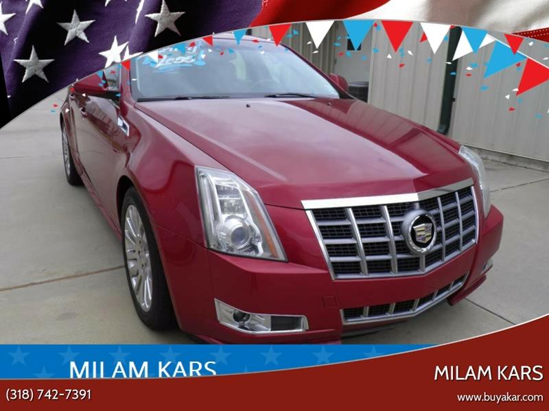 2012 Cadillac CTS 3.6L Premium 4dr Sedan w/Navigation - Bossier City LA
