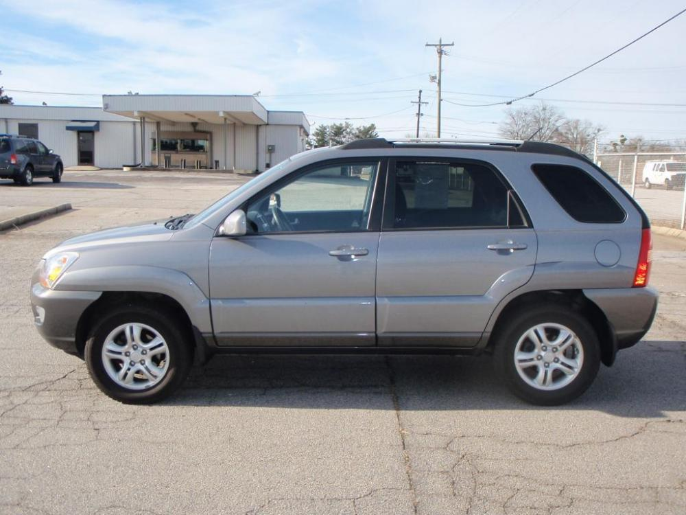2008 KIA SPORTAGE EX 4DR SUV gray 27 liter 6 cylinder16 inch alloy wheelsabsfront seat side a