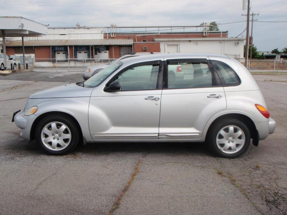 2004 CHRYSLER PT CRUISER BASE 4DR WAGON silver 24 liter 4 cylinder16 inch alloy wheelsbrite in