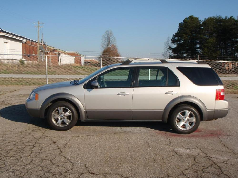 2007 FORD FREESTYLE SEL 4DR WAGON silver new set of b f goodrich tires 30 liter 6 cylinder17 i
