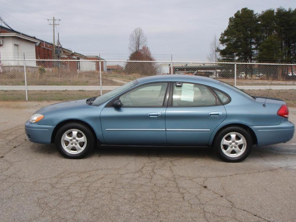 2007 FORD TAURUS SE FLEET 4DR SEDAN blue new set of b f goodrich tires 30 liter 6 cylindercomp