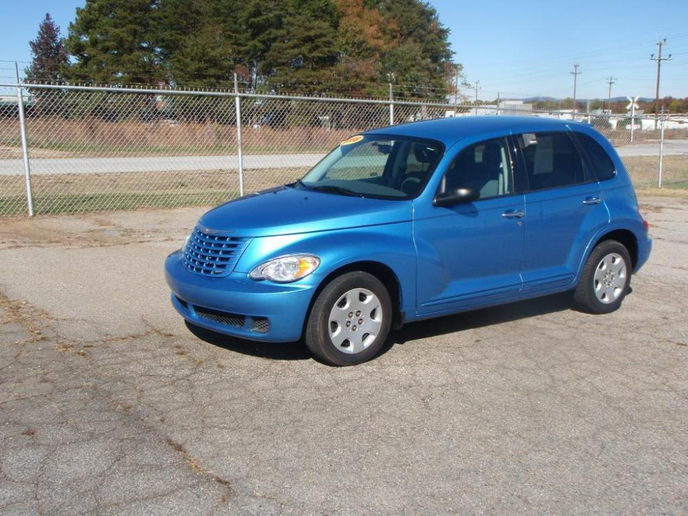 2008 CHRYSLER PT CRUISER BASE 4DR WAGON blue compact discanti theft systemremote entryside air