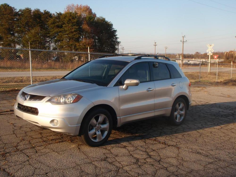 2007 ACURA RDX SH-AWD WTECH 4DR SUV WTECHNOLO silver all wheel drive23 liter 4 cyliner18 inch