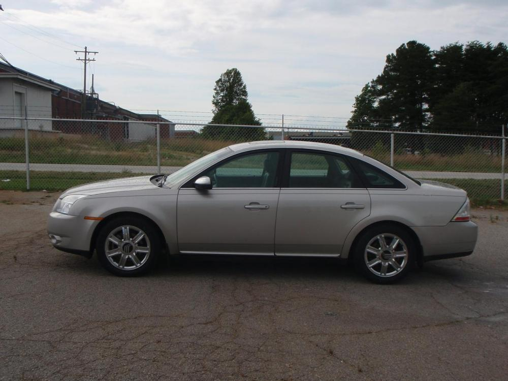 2008 MERCURY SABLE PREMIER 4DR SEDAN silver new set of nexen tires18 inch crome wheelsin dash c