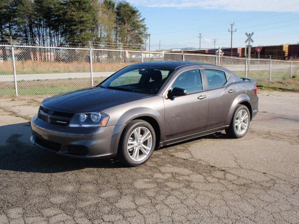 2014 DODGE AVENGER SE 4DR SEDAN gray miles only 14k 24 liter 4 cylinder engine18 inch alloy