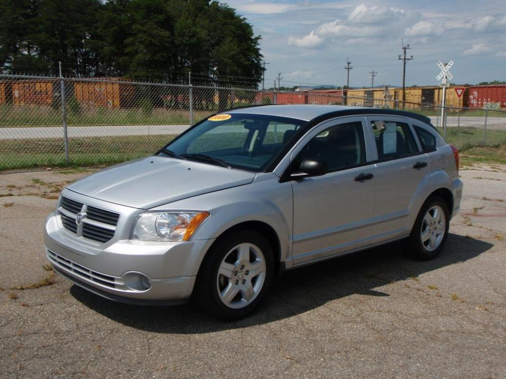 2008 DODGE CALIBER SXT 4DR WAGON silver 20 liter 4 cylindernew set of tires17 inch alloy wheel