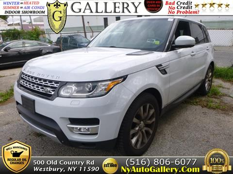 2015 Land Rover Range Rover Sport for sale in Westbury, NY