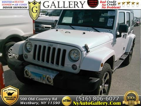 2018 Jeep Wrangler Unlimited for sale in Westbury, NY