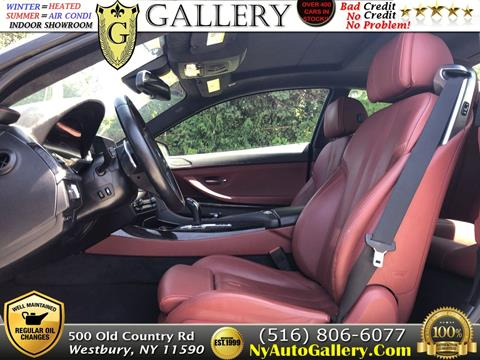 2016 BMW 6 Series for sale in Westbury, NY