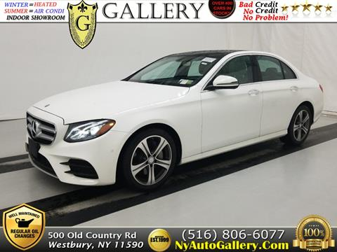 2017 Mercedes-Benz E-Class for sale in Westbury, NY
