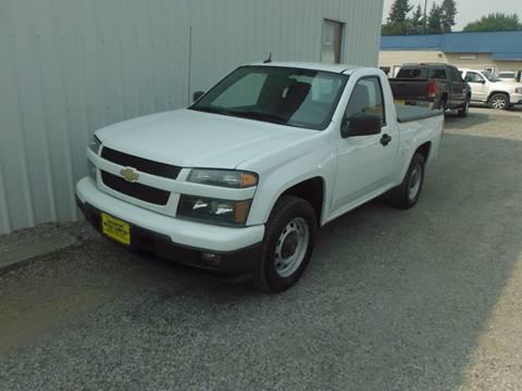2011 Chevrolet Colorado for sale in Davenport, WA