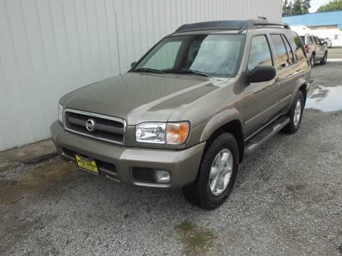 2002 Nissan Pathfinder for sale in Davenport, WA