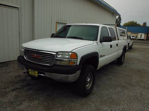2001 GMC Sierra 2500HD for sale in Davenport, WA