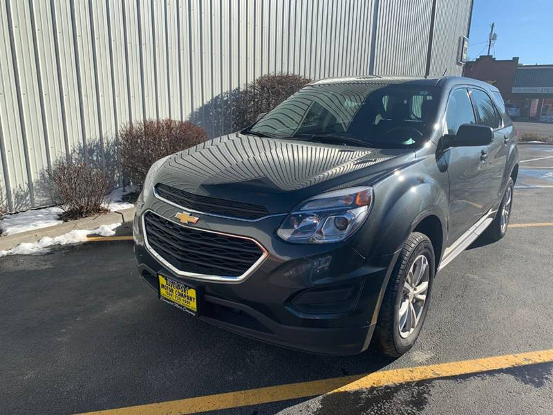 2017 Chevrolet Equinox for sale at DAVENPORT MOTOR COMPANY in Davenport WA