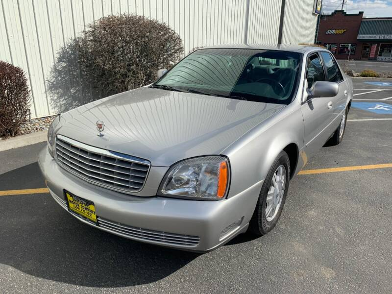 2005 Cadillac DeVille for sale at DAVENPORT MOTOR COMPANY in Davenport WA