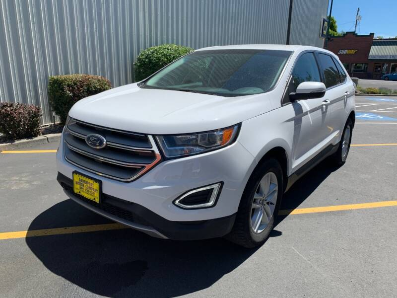 2016 Ford Edge for sale at DAVENPORT MOTOR COMPANY in Davenport WA
