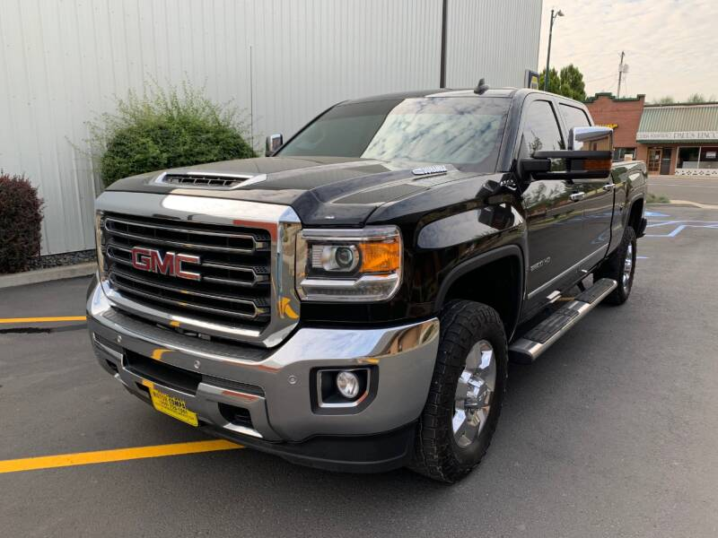 2018 GMC Sierra 2500HD for sale at DAVENPORT MOTOR COMPANY in Davenport WA