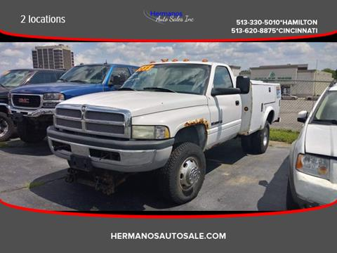 2001 Dodge Ram Chassis 3500 for sale in Hamilton, OH