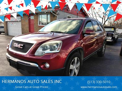 2010 GMC Acadia for sale in Hamilton, OH