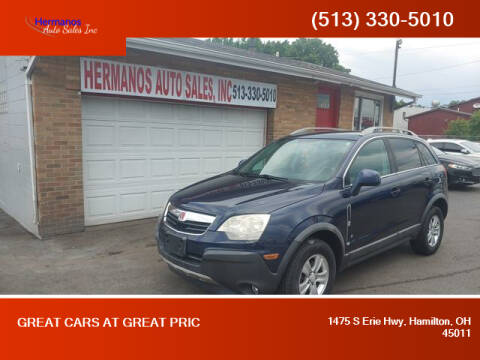 2008 Saturn Vue for sale at HERMANOS AUTO SALES INC in Hamilton OH