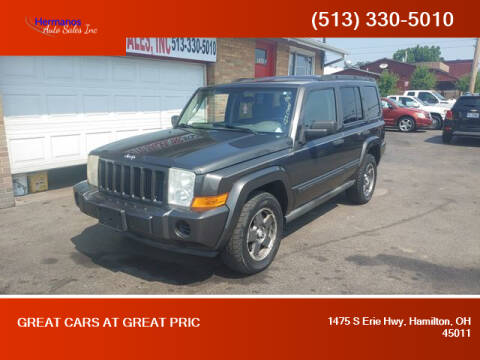 2006 Jeep Commander for sale at HERMANOS AUTO SALES INC in Hamilton OH