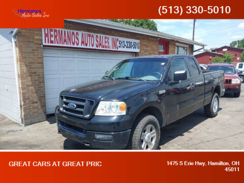 2005 Ford F-150 for sale at HERMANOS AUTO SALES INC in Hamilton OH