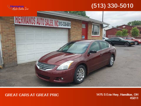 2010 Nissan Altima for sale at HERMANOS AUTO SALES INC in Hamilton OH