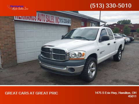 2006 Dodge Ram Pickup 1500 for sale at HERMANOS AUTO SALES INC in Hamilton OH