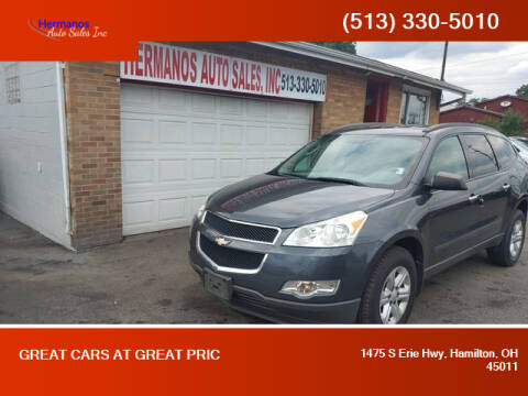 2011 Chevrolet Traverse for sale at HERMANOS AUTO SALES INC in Hamilton OH