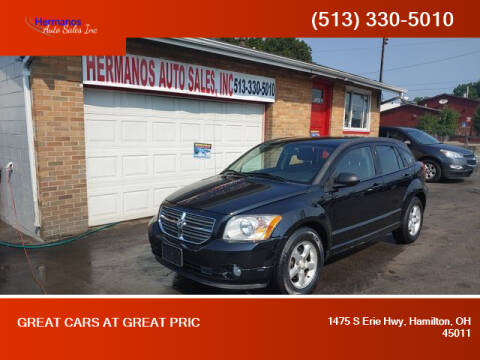 2012 Dodge Caliber for sale at HERMANOS AUTO SALES INC in Hamilton OH
