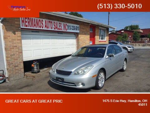 2005 Lexus ES 330 for sale at HERMANOS AUTO SALES INC in Hamilton OH