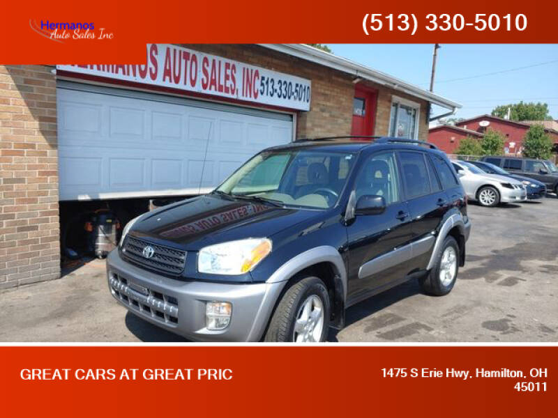2001 Toyota RAV4 for sale at HERMANOS AUTO SALES INC in Hamilton OH