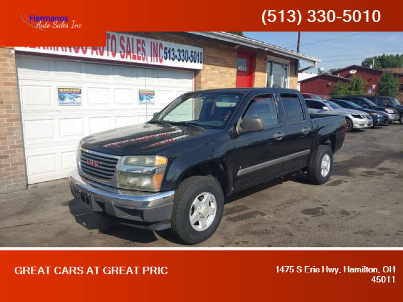 2006 GMC Canyon for sale at HERMANOS AUTO SALES INC in Hamilton OH