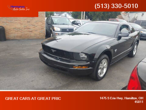 2009 Ford Mustang for sale at HERMANOS AUTO SALES INC in Hamilton OH