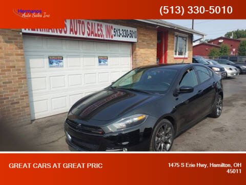 2013 Dodge Dart for sale at HERMANOS AUTO SALES INC in Hamilton OH