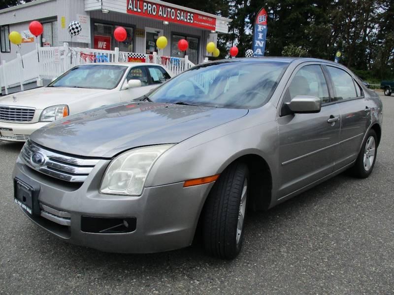 2009 Ford Fusion V6 SE 4dr Sedan - Des Moines WA