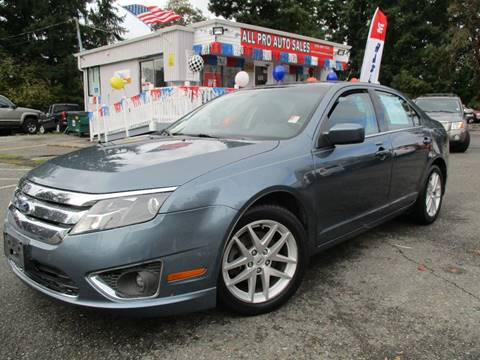 2012 Ford Fusion for sale in Des Moines, WA