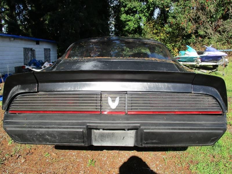 1981 Pontiac Firebird Trans Am 2dr Coupe - Des Moines WA