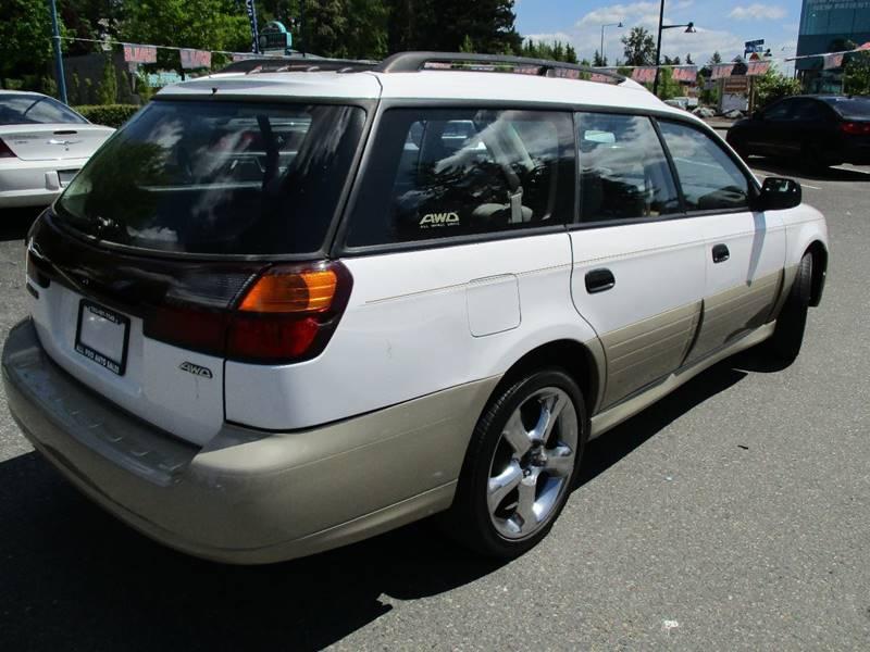 2002 Subaru Outback AWD 4dr Wagon w/Weather Pkg - Des Moines WA