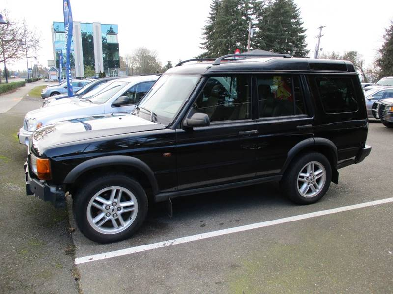 2002 Land Rover Discovery Series II SE 4WD 4dr SUV - Des Moines WA