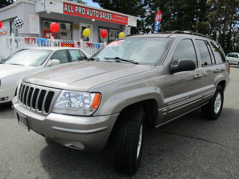 1999 Jeep Grand Cherokee 4dr Limited 4WD SUV - Des Moines WA
