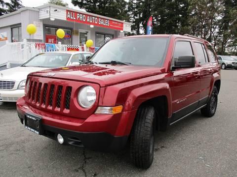 2012 Jeep Patriot for sale in Des Moines, WA