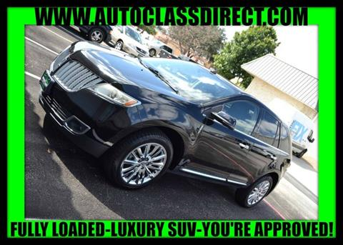 2012 Lincoln MKX for sale in Richardson, TX