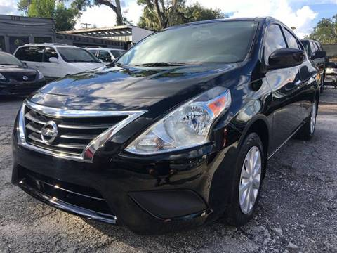 2015 Nissan Versa for sale in Tampa, FL