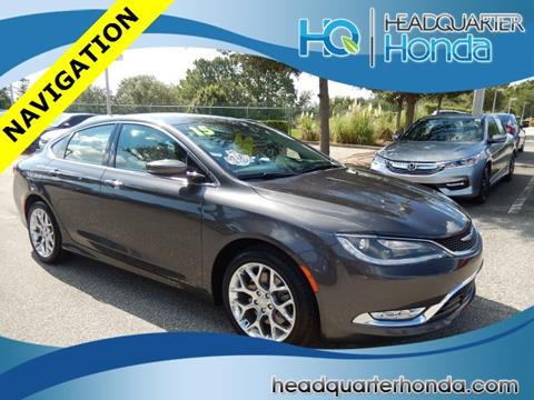 2015 Chrysler 200 for sale in Clermont, FL