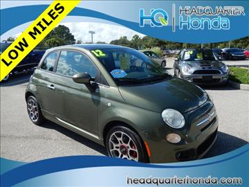 2012 FIAT 500 for sale in Clermont, FL