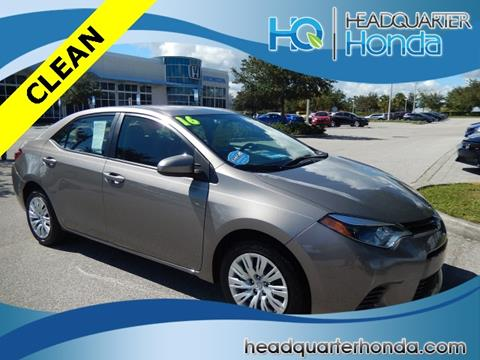 2016 Toyota Corolla for sale in Clermont, FL
