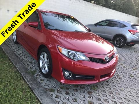 2012 Toyota Camry for sale in Clermont, FL
