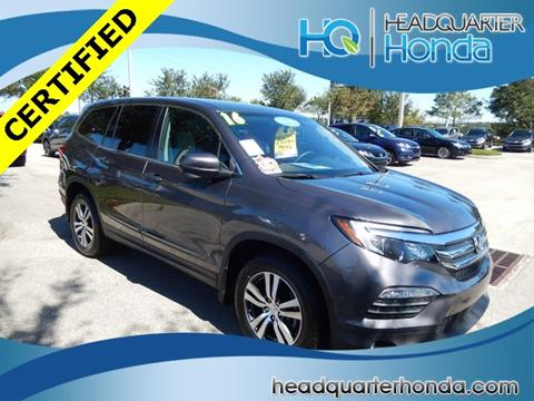 2016 Honda Pilot for sale in Clermont, FL