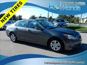 2009 Honda Accord for sale in Clermont, FL